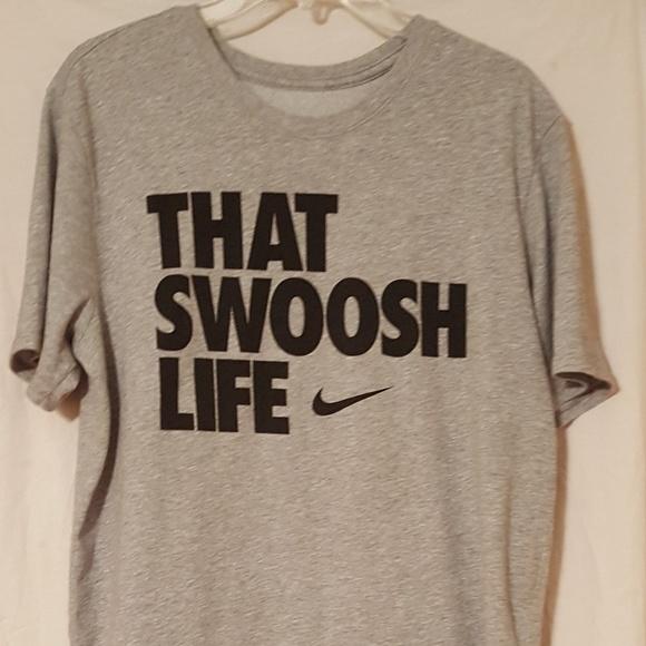 4fb8028f Nike Shirts | That Swoosh Life Mens Xl Dry Fit | Poshmark